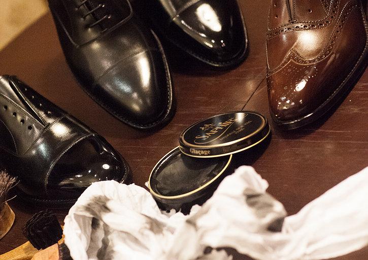 Shoe Shining